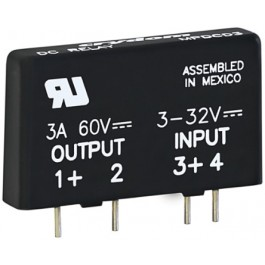 PCB SIP SSR 60VDC/3A, 3-32VDC