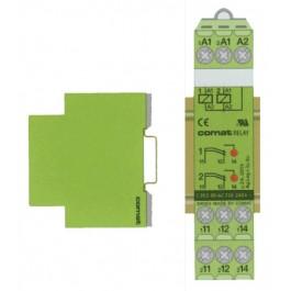 Interface Module 17.5 Din Rail Mnt 2 X 1-Pole 2A 125VAC 220-240 VAC Coil